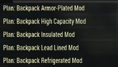[PC] Backpack Plans Pack | 5 different plans (list of plans in the pictures) - Fast Delivery