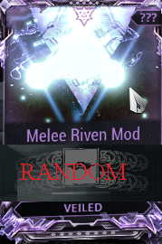 [PC/Steam] Melee Riven mod pack X6 Veiled (MR 8) // Fast delivery!