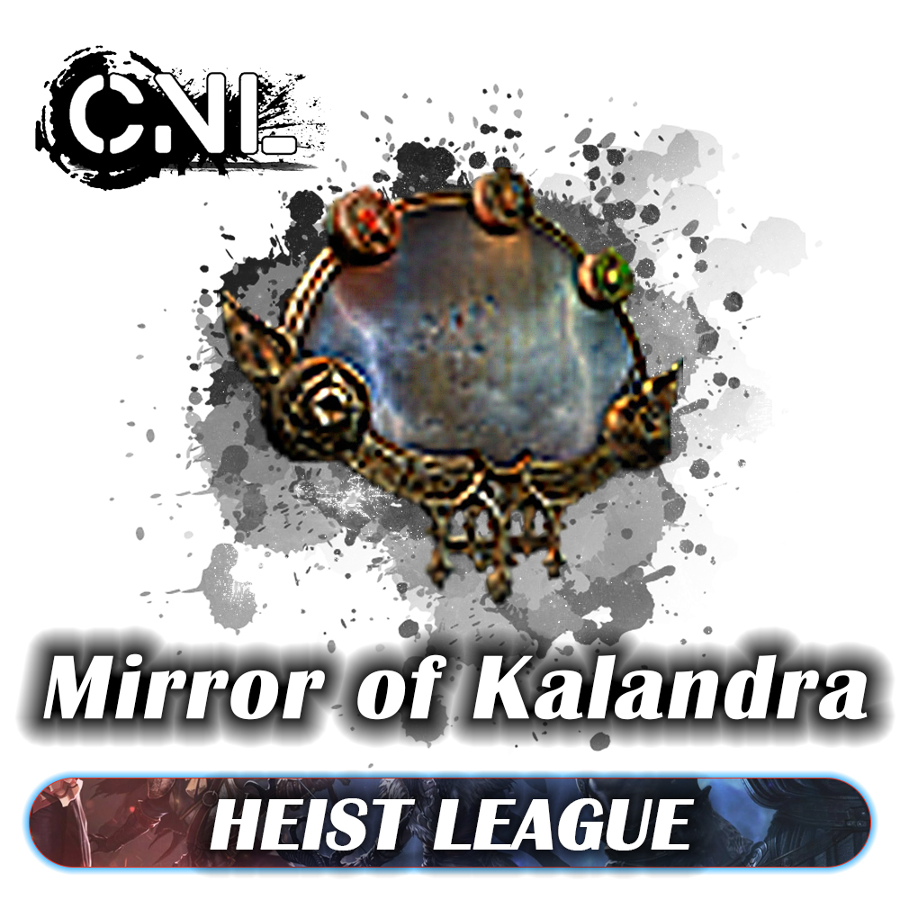 [PC] Mirror Of Kalandra ★★★ Heist SC ★★★ 1-5 mins Delivery