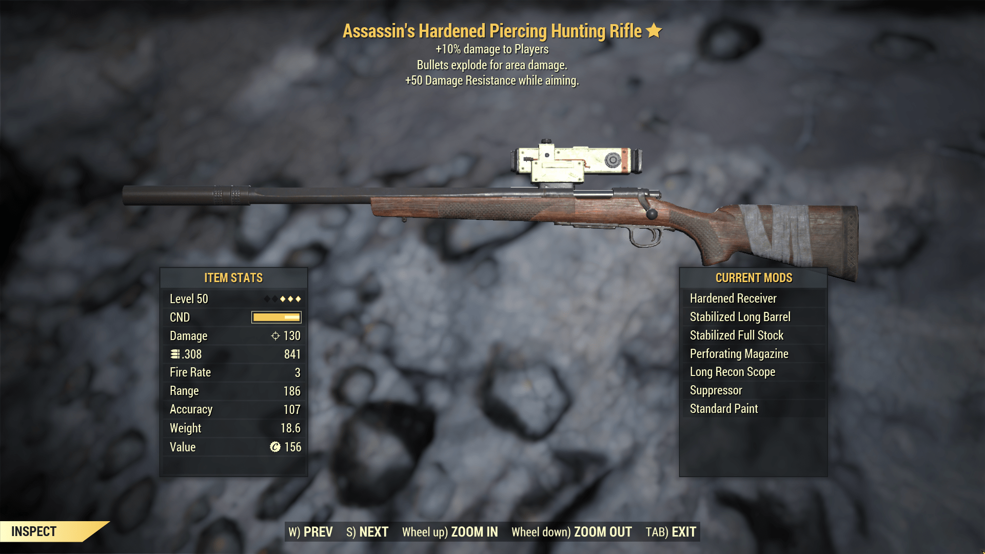 ★★★ Assassins Explosive Hunting Rifle[+50 DMG RESIST] | FAST DELIVERY |