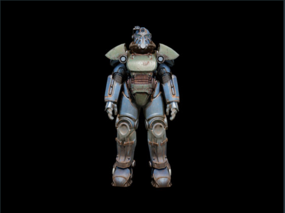 T-51 power armor set - Level 50