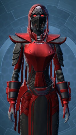 Sinister Warrior's Armor Set EU