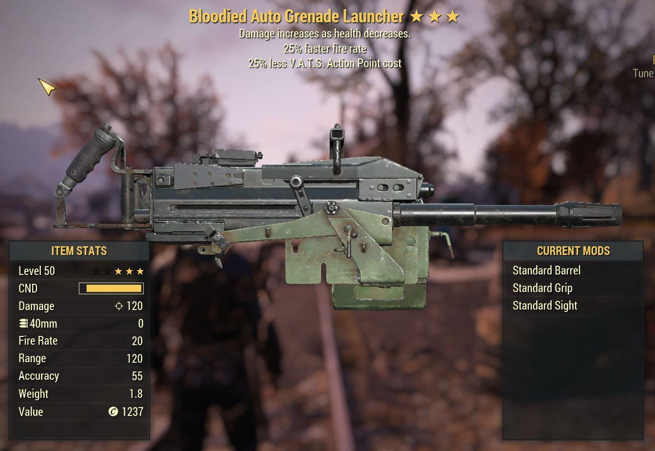 Auto Grenade Launcher B2525