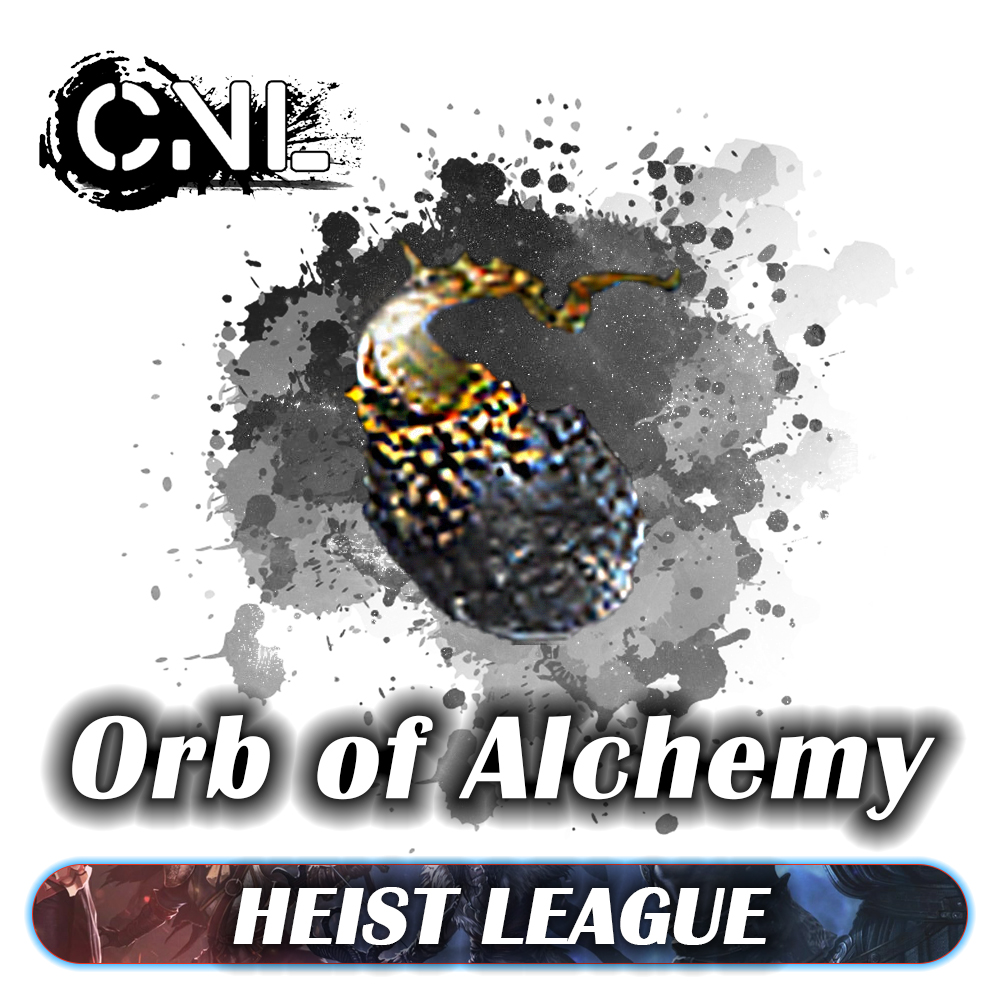 [PC] Orb of Alchemy ★★★ Heist  SC ★★★ 1-5 mins Delivery