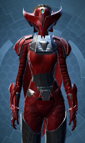 Crimson Talon Armor Set US